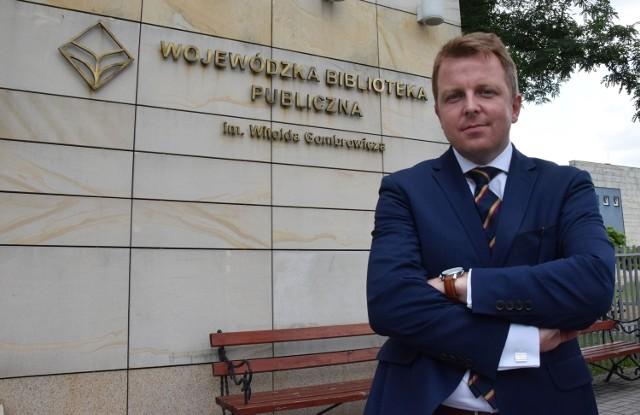 Dla kogo i jaka jest praca w Świętokrzyskiem?Karol Kaczmarski,  prezes Świętokrzyskiego Centrum Innowacji i Transferu Technologii w Kielcach.
