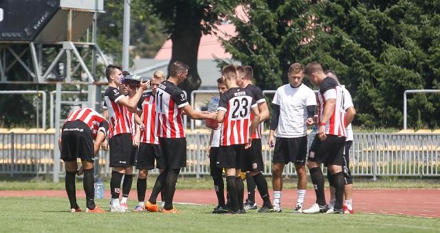 Piłkarze trzecioligowej Resovii ulegli Górnikowi Łęczna, grającemu w Nice 1 lidze