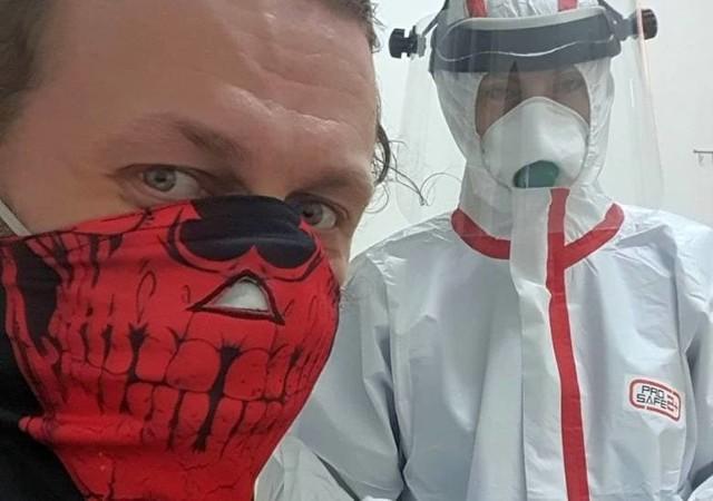 Krzysztof Drabikowski to pierwszy podlaski pacjent zakażony koronawirusem