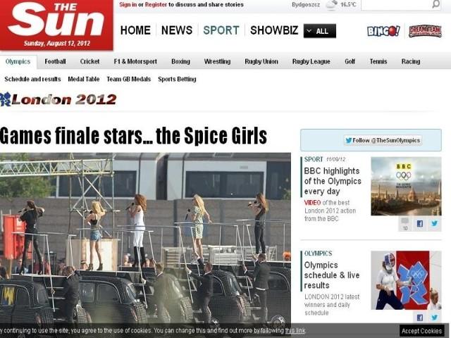 """Dziennikarze brytyjskiego """"The Sun"""" wykonali zdjęcia z pilnie strzeżonej próby przed ceremonią zamknięcia igrzysk. Dzięki temu wiemy niemal na pewno, że na ten koncert reaktywuje się w oryginalnym składzie zespół Spice Girls"""
