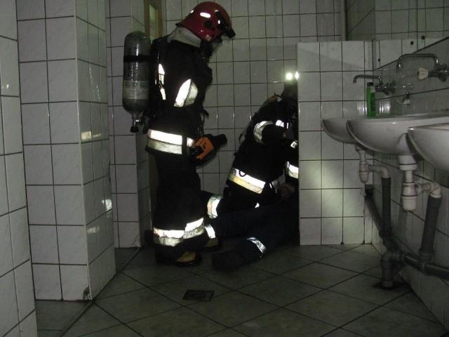 Pożar w Barterze