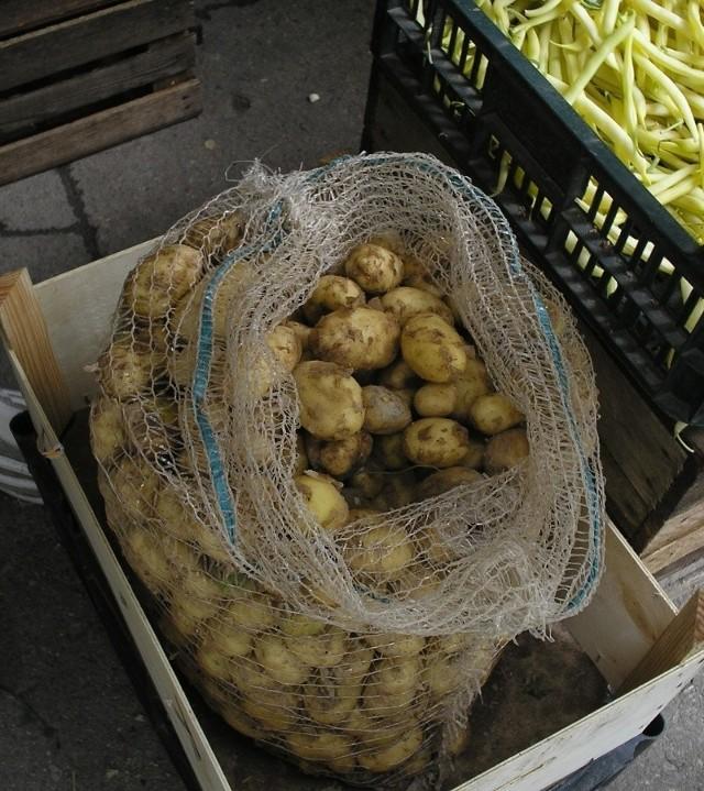 Młode gruntowe, krajowe ziemniaki można kupić od 1,20 do 1,80 zł za kilogram.