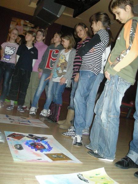Głównym punktem programu był konkurs plastyczny. Dzieci przedstawiały swoje marzenia o przyszłym zawodzie.