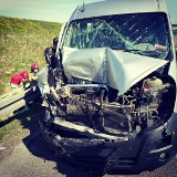 Uwaga! Poważny wypadek na S3. 6 osób rannych