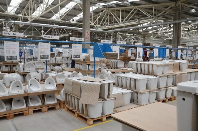 Gotowe wyroby czekają na zapakowanie