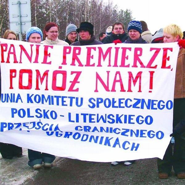 Polscy i litewscy przedsiębiorcy domagali się swego czasu gospodarczego ożywienia przejścia w Ogrodnikach. Ich postulaty wysłuchane zostały dopiero teraz.