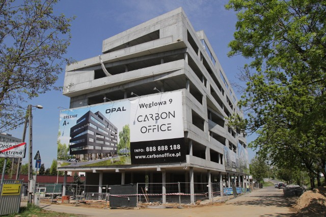 Carbon Office przy ulicy Baildona w Katowicach