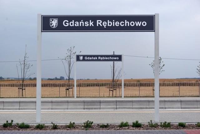 Stacja PKM Gdańsk Rębiechowo. Jest jeszcze wiele do zrobienia....