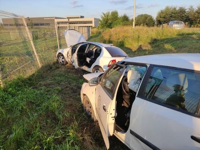 W wypadku, który miał miejsce 30 lipca 2021 na ulicy Diesla w Niepołomicach poszkodowane zostały dwie osoby