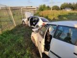 Niepołomice. Poważny wypadek na drodze w strefie przemysłowej. Dwoje rannych