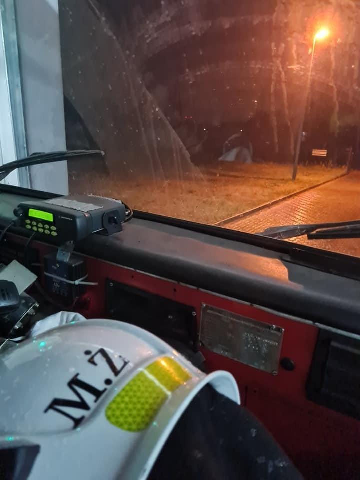 Strażacy z OSP Jurowce zostali zadysponowani tuż po północy