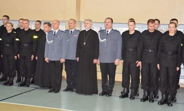 W piątek w Oddziale Prewencji Policji w Białymstoku odbyło się uroczyste ślubowanie nowych funkcjonariuszy przyjętych do służby w podlaskim garnizonie.