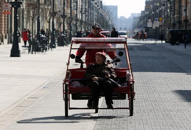 Według władz Łodzi przekazanie riksz do MPK poprawiłoby ich estetykę i włączyło w system transportu miejskiego