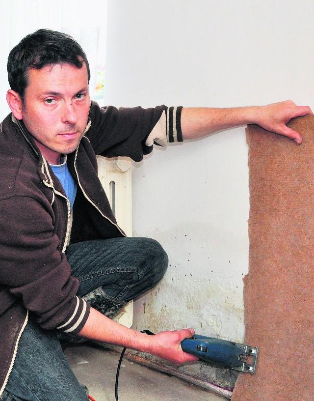 Adam Bernacik wciąż czeka na pomoc finansową po powodzi