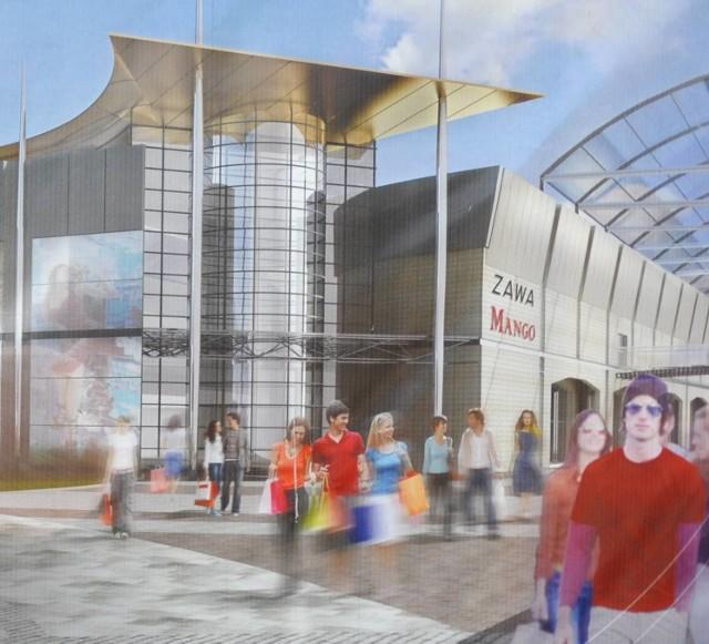 Galeria na Zawarciu ma być gotowa na początku 2010 r.
