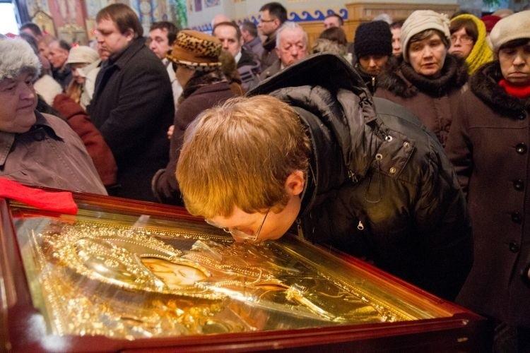 Ikony św. Mikołaja należą do najbardziej popularnych w...