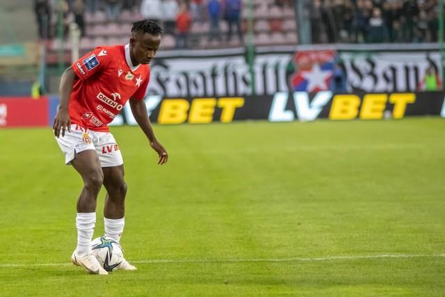 Yaw Yeboah z Wisły Kraków to najbardziej efektownie grający piłkarz ekstraklasy