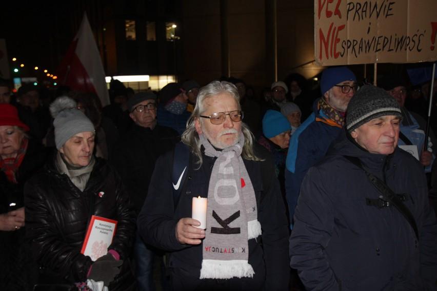 Pikieta przed Sądem Okręgowym pw Katowicach 23 stycznia 2020