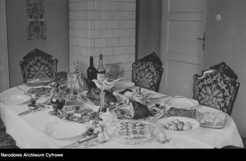 Wielkanocne stoły sprzed prawie stu lat