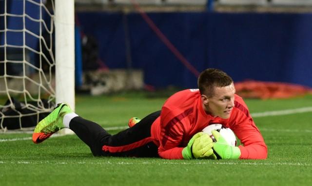 Trening przed meczem Polska - Czarnogóra