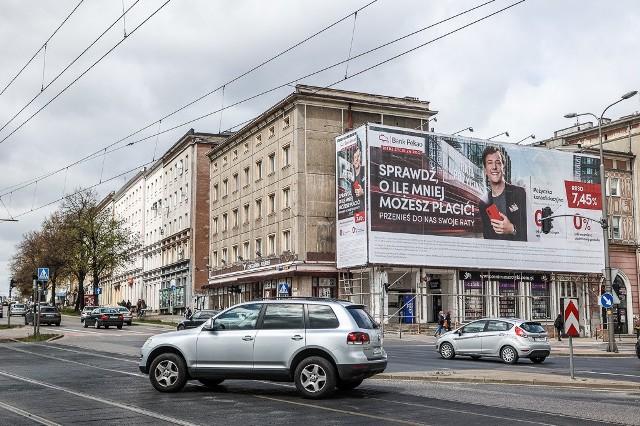 Skrzyżowanie alei Grunwaldzkiej z ulicami Miszewskiego i Do Studzienki