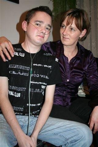 Tomek i jego mama wierzą w życie. I w ludzi