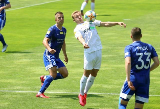 Robert Janicki zdobył bramkę w ostatnim meczu z Puszczą Niepołomice, ale nie zapewniła ona Zielonym nawet punktu.