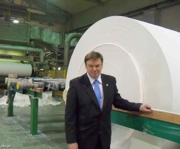 Elektrownia gazowa może stanąć obok zakładów papierniczych Metsa Tissue. (fot. archiwum)