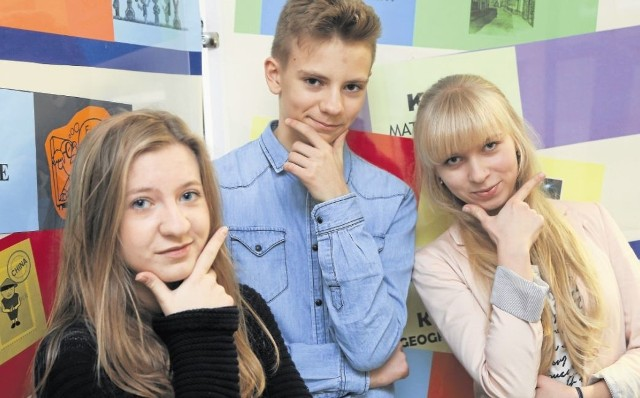 Nauka to dla nich pasja i sposób na poznawanie świata. Oto trójka z Podlasia, którym stypendia osobiście wręczyła minister edukacji. Od lewej: Julia Szydlik, Filip Bossowski i Anna Bożuk.