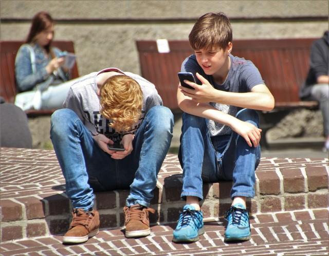 Uczniowie prowadzą kampanię informacyjną w mediach społecznościowych m.in. na Instagramie i TikToku