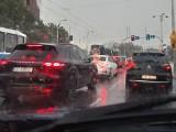 Intensywny deszcz we Wrocławiu (ZDJĘCIA)