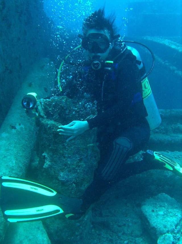 Magdalena Hoffmann: - Nurkuję rekreacyjnie, ale mam licencję divemastera, która pozwala mi na zejście na głębokość 50 metrów