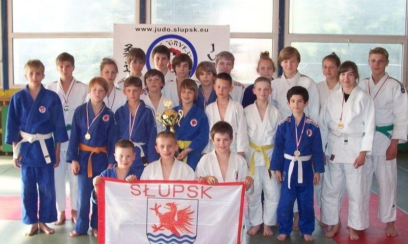 Młodzi judocy ze Słupska.