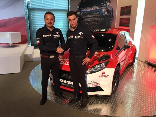 Hubert Ptaszek i Maciej Szczepaniak są jedną z najlepszych polskich załóg rajdowych