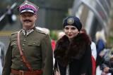 V Wojewódzki Kongres Kobiet w Sosnowcu. Pola Negri to Monika Rosa na dworcu w Sosnowcu ZDJĘCIA