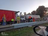 Tragiczny karambol na autostradzie A4 pod Wrocławiem. Nie żyje kierowca