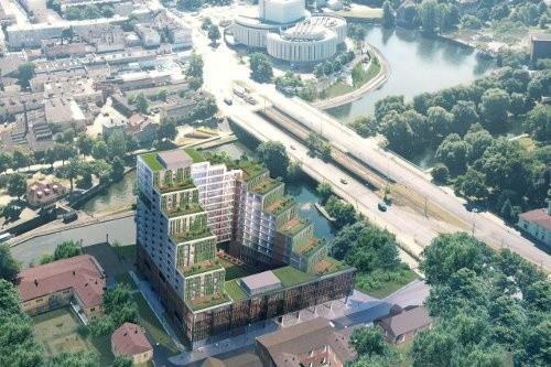 Nordic HavenW budynku znajdzie się 129 apartamentów