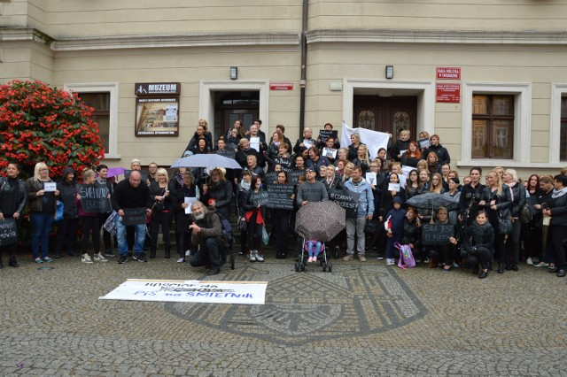 Czarny protest Świebodzin