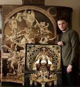 Daniel Pawłowski - włocławski artysta. To już znaczące nazwisko na polskim rynku sztuki