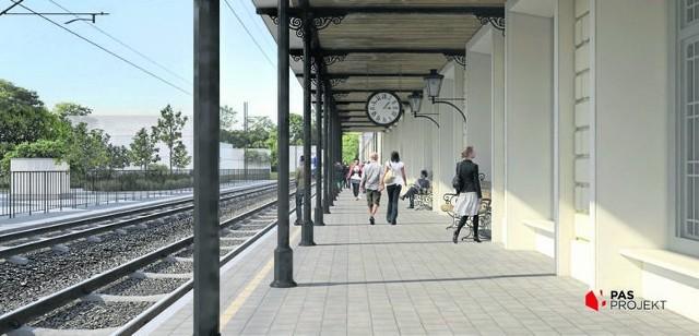Tak ma wyglądać dworzec w Maczkach