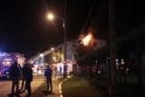 Pożar kamienicy na Aleksandrowskiej. 14 osób ewakuowanych [ZDJĘCIA+FILM]
