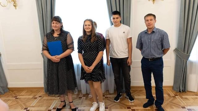Aleksander i Natalia Yagovkin oraz ich dzieci Nikita i Alena są nowymi mieszkańcami Kozienic.