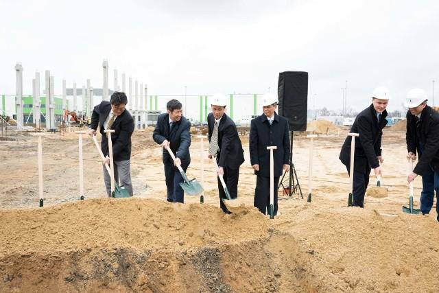 Wiosna 2017 roku - start budowy zakładu Hongbo przy ul. Północnej w Opolu. Teraz firma chce zacieśnić współpracę z miastem.