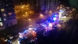 Pożar przy ul. Gorlickiej. Ewakuacja mieszkańców
