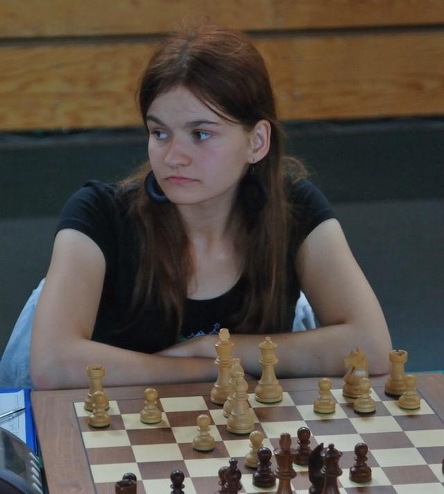 Mistrzyni Europy do lat 16 Katarzyna Adamowicz.