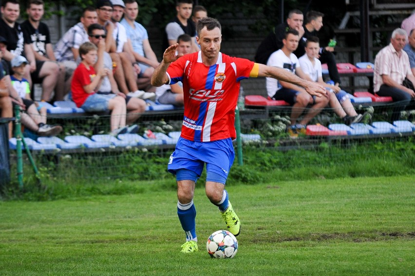 Paweł Dyczek zdobył w sparingu bramkę dla Chemika Kędzierzyn-Koźle.