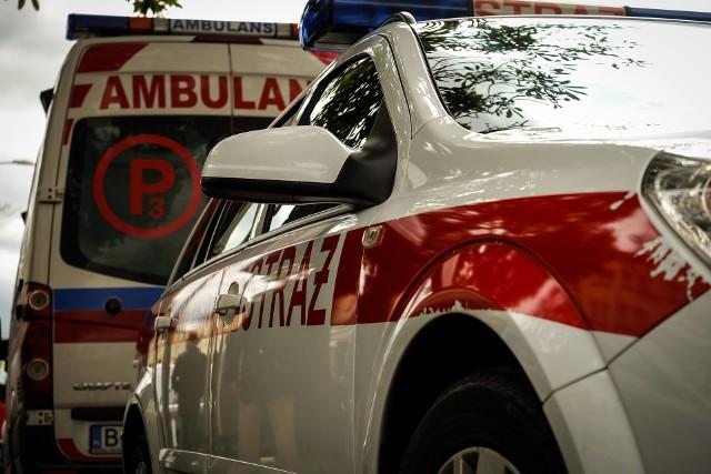 Netta Druga. Wypadek zablokował DK61 między miejscowościami Augustów i Grajewo. Zderzyły się cztery pojazdy