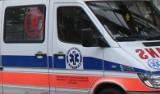 Błonie. Wypadek na trasie sandomierskiego triathlonu. Rowerzysta wjechał w policjantkę