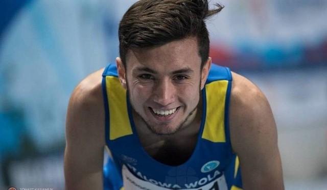 Szymon Żywko wygrał bieg na 800 metrów na mitingu w Spale.