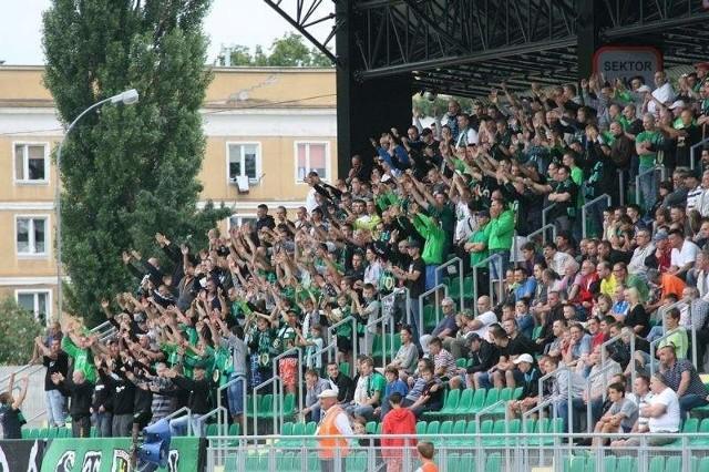 Kibice w Stalowej Woli oglądali już świetny mecz swoich ulubieńców w rundzie wstępnej, gdy Stal pokonała Cracovię.